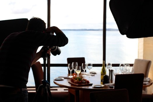 Free stock photo of food, restaurant, camera, taking photo