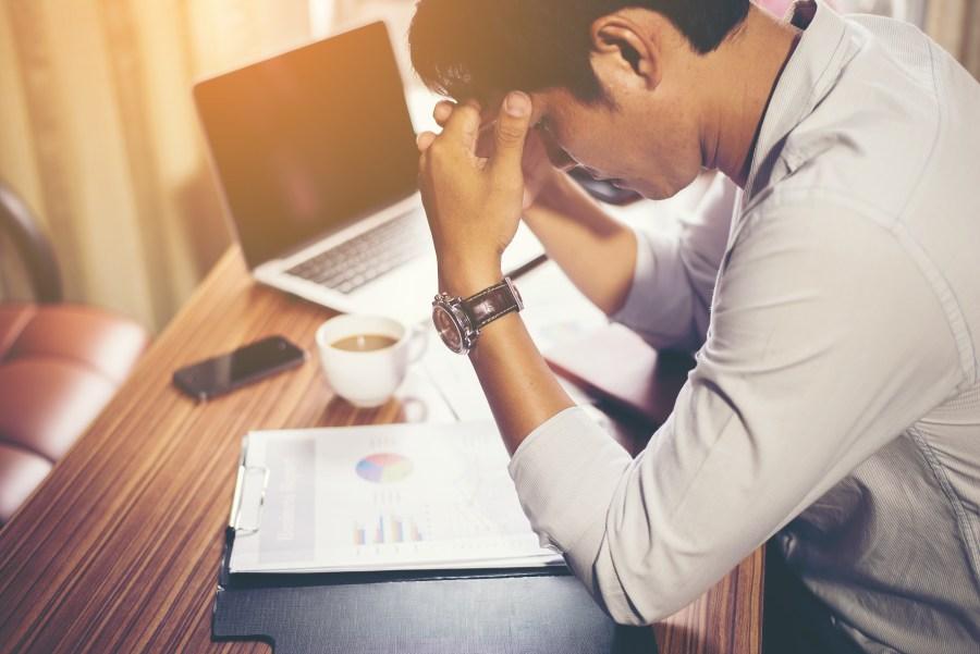 headache, business, bad, down