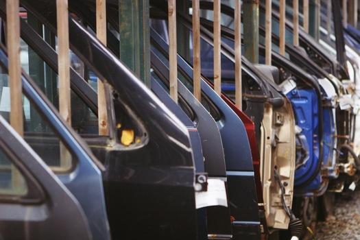 Free stock photo of industry, car, factory, car door