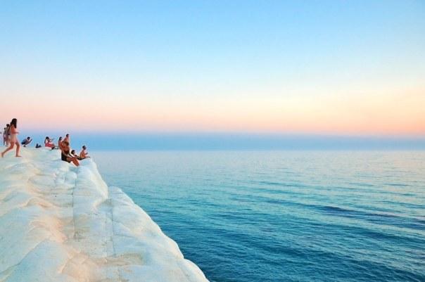 cliff, coast, holiday