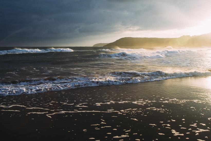 Beach, Coast, Nature, Sea, Waves