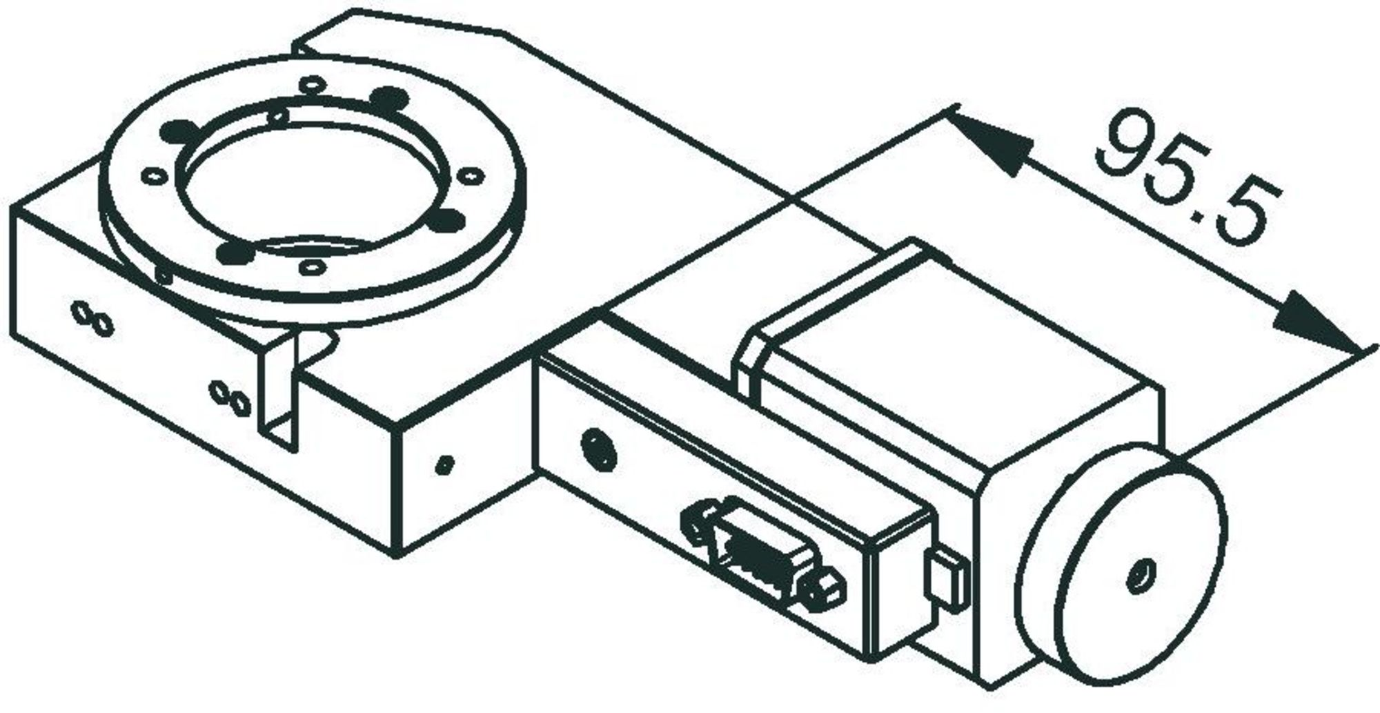 Dt 80 Compact Rotation Stage