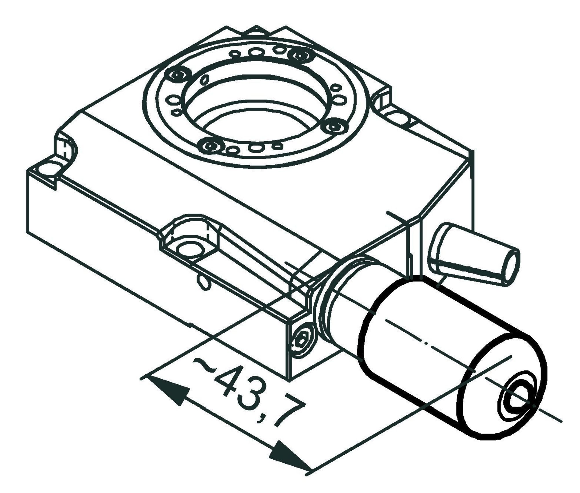 Rs 40 Compact Rotation Stage