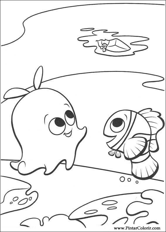 Sheldon Finding Nemo Drawing
