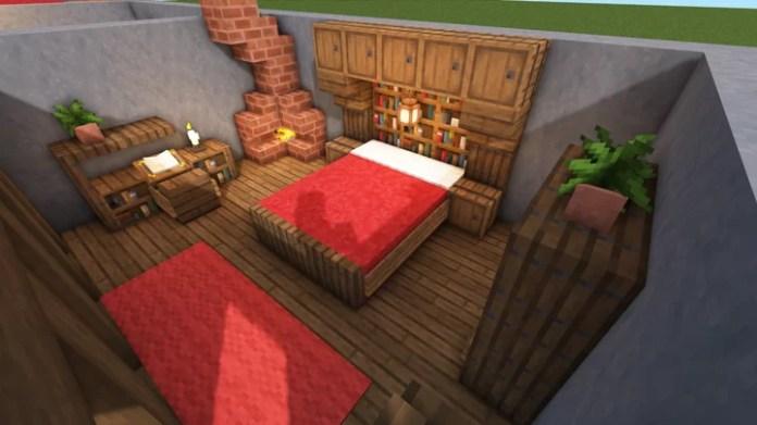 5 Medieval Bedroom Designs Minecraft Map