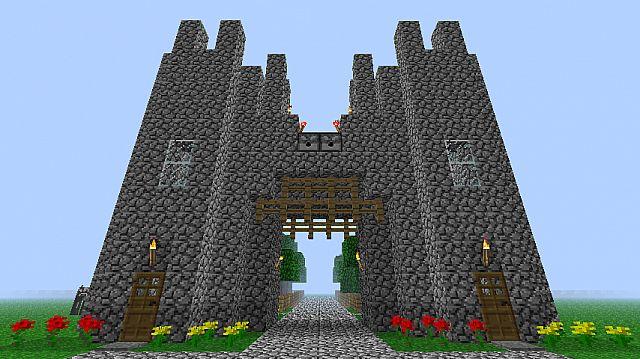 Basic CastleTown Entrance WITH ARROW DISPENSERS