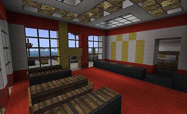 McDonalds Beach Town Project Minecraft Project