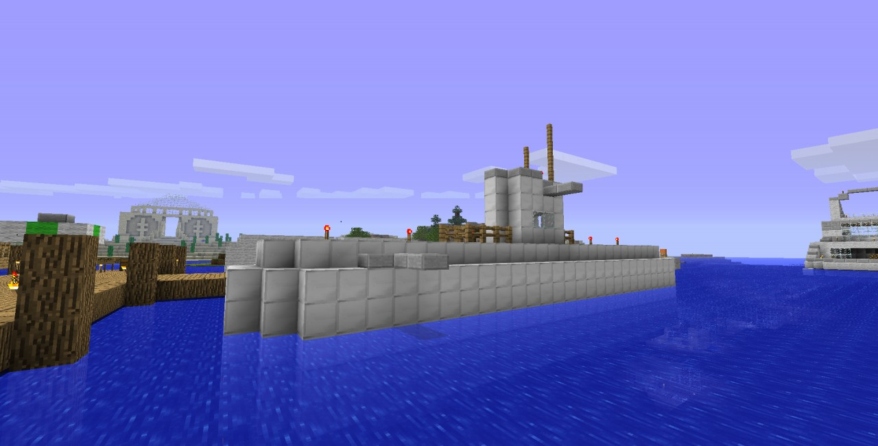 Submarine SchematicWorld Save Minecraft Project
