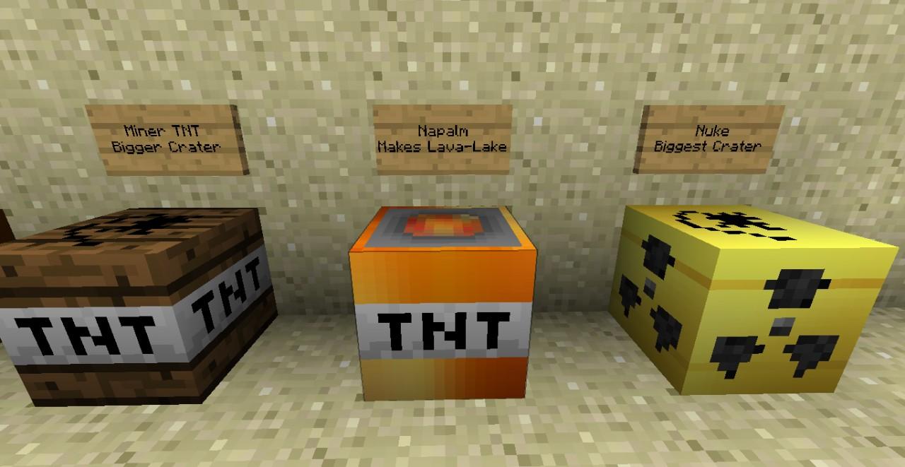 Alternative TNT Mod Textures Minecraft Texture Pack