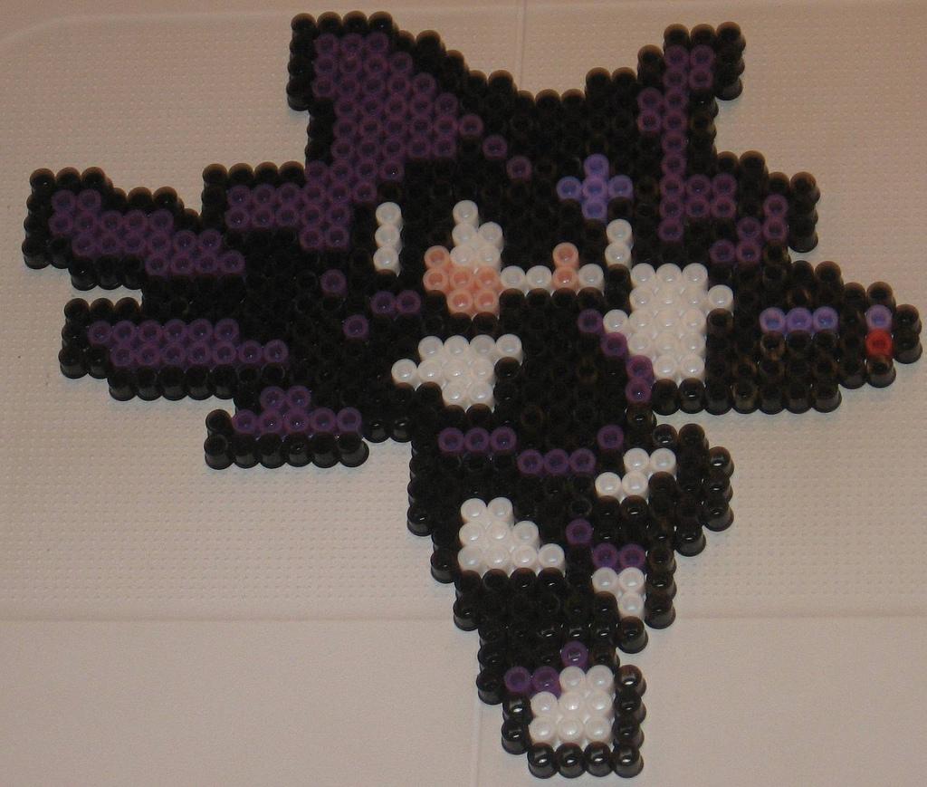 Super Bass Pixel Art Megaman Minecraft Project