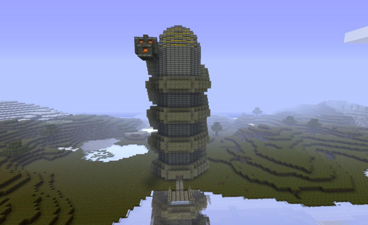 Snake Tower Vault Minecraft Project
