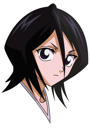 Rukia Kuchiki 2D Art Minecraft Project