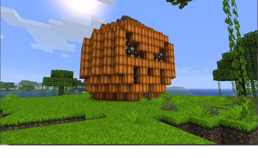 Giant Pumpkin Minecraft Project