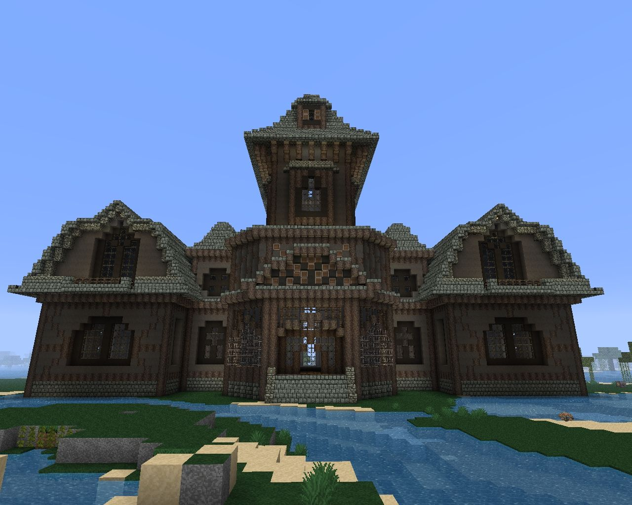 Halloween The Haunted Mansion Minecraft Project