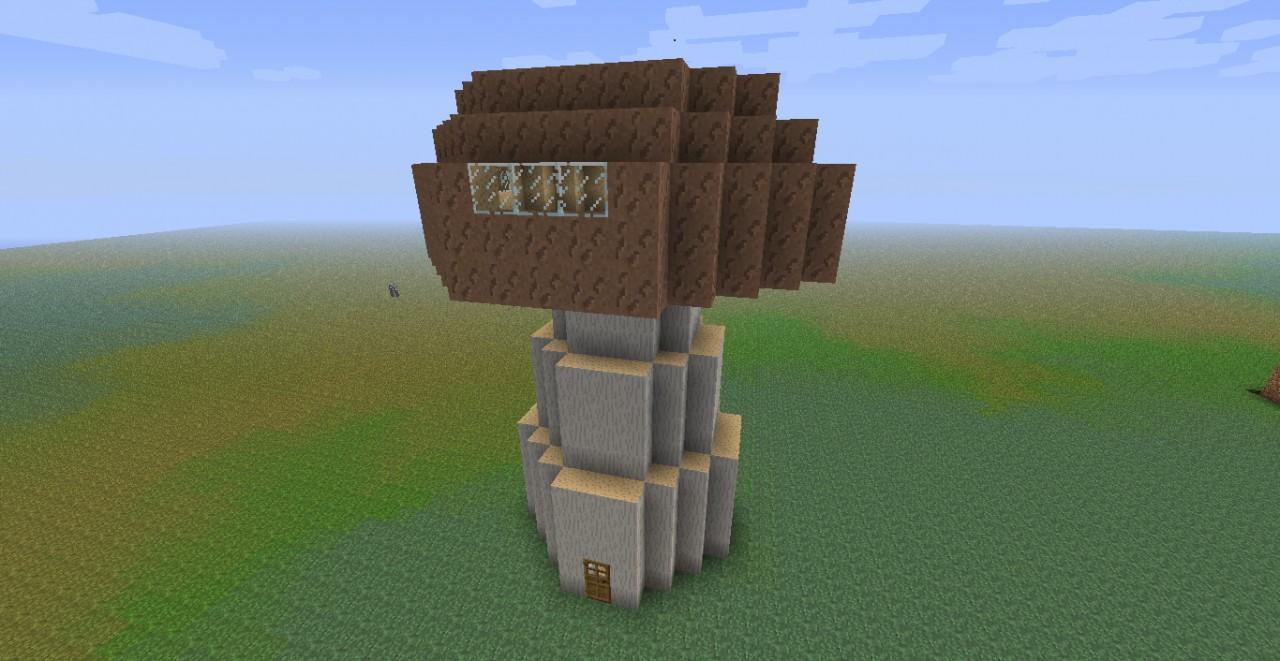 Huge Mushroom House Minecraft Project