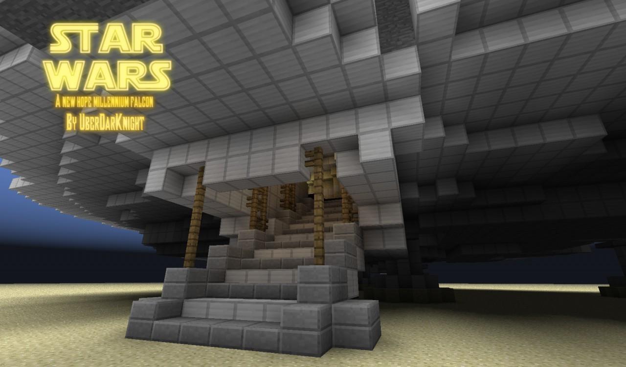 Star Wars Millennium Falcon Minecraft Project