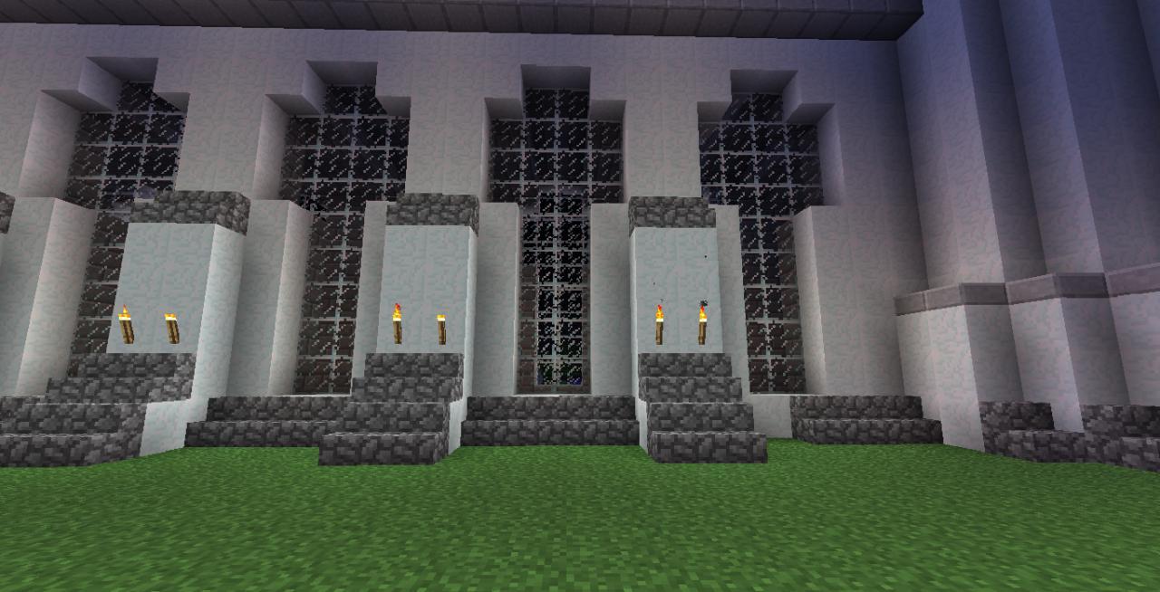 Castle Tho SnowWhite Castle Walls Minecraft Project