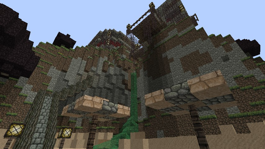 Minecraft House Cliff Grian