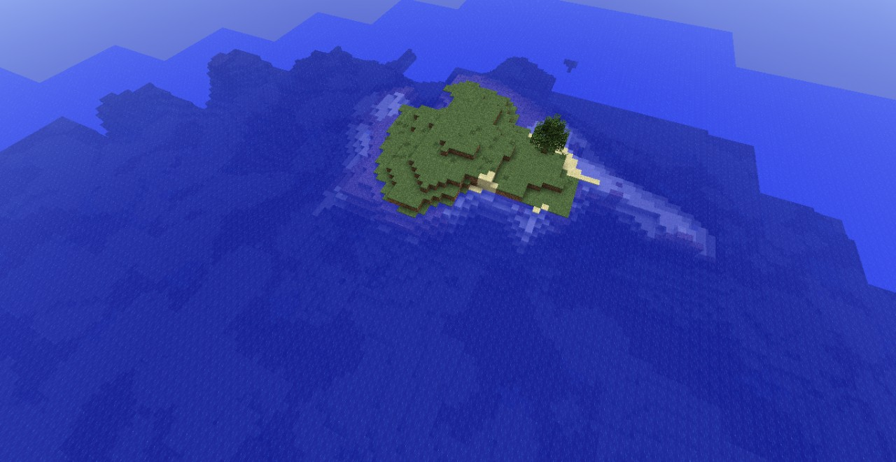 Minecraft Islands Seed Great For A Survival Island Map