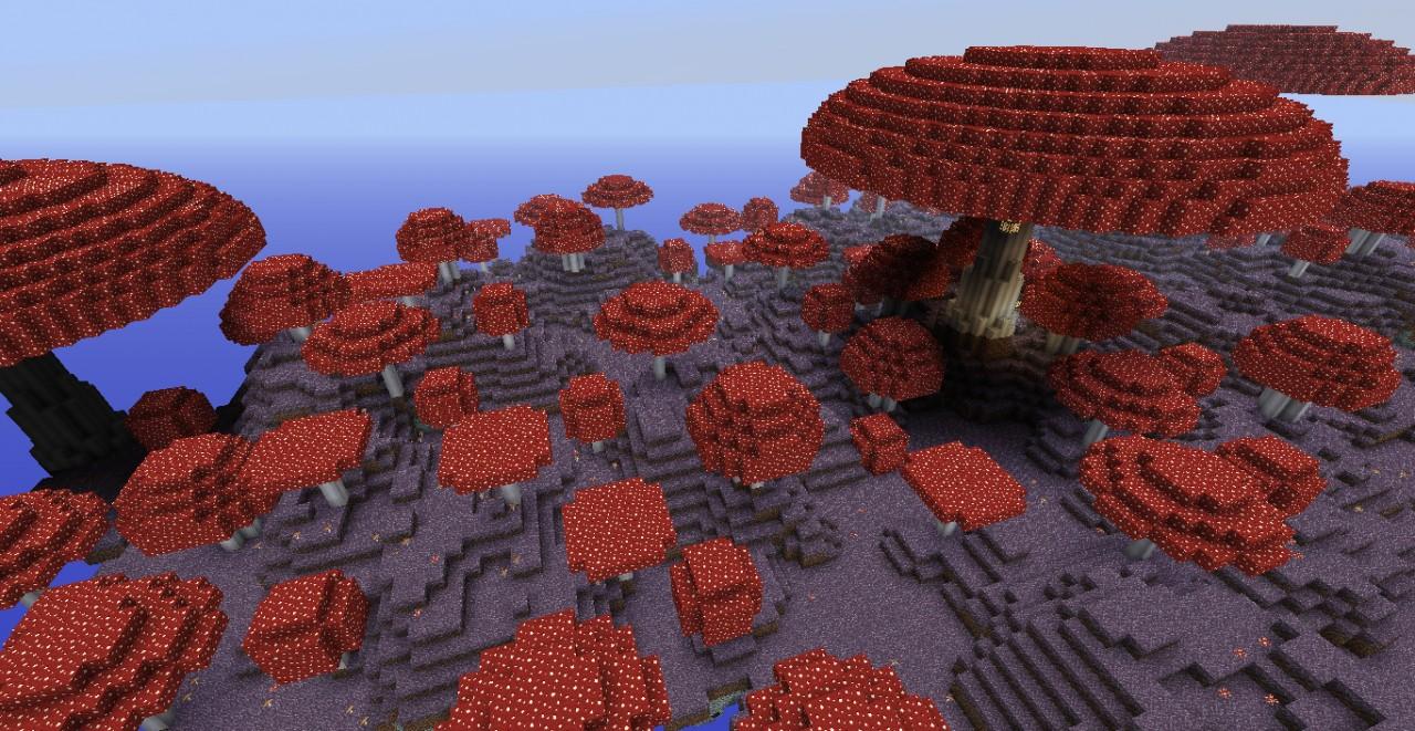 Soria Spawn Mushroom Island Minecraft Project