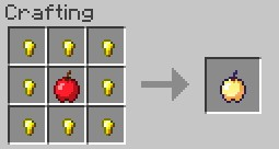 New Golden Apple Recipe Minecraft Blog
