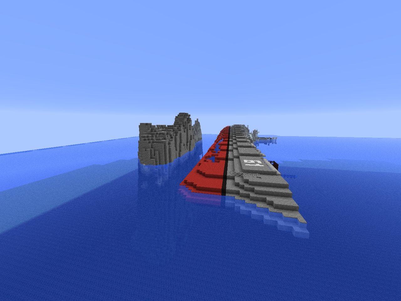 The USS Iowa BB 61 Minecraft Project