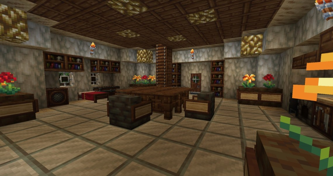 Image Result For How To Make A Cool Living Room In Minecraft