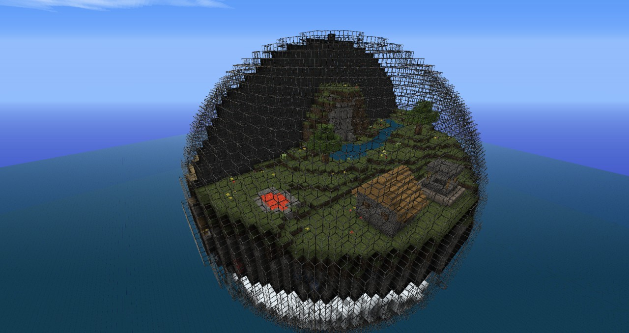Minecraft In A Ball Minecraft Project