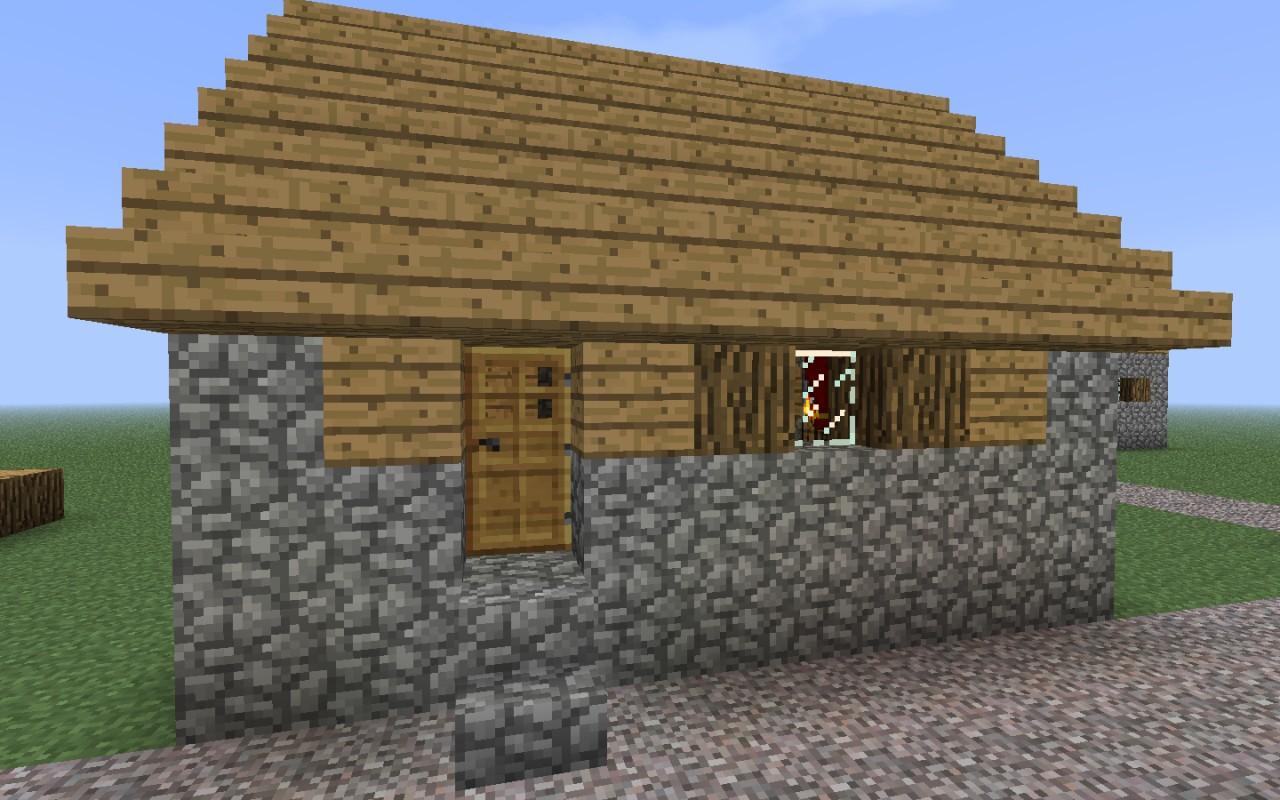 Minecraft Village House