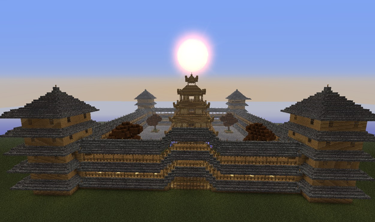 China Castle 10 Minecraft Project