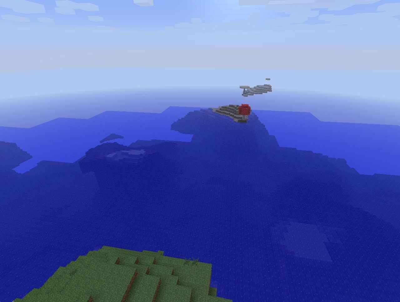 Minecraft Seed 1 Island With Only 1 Tree And A Mushroom
