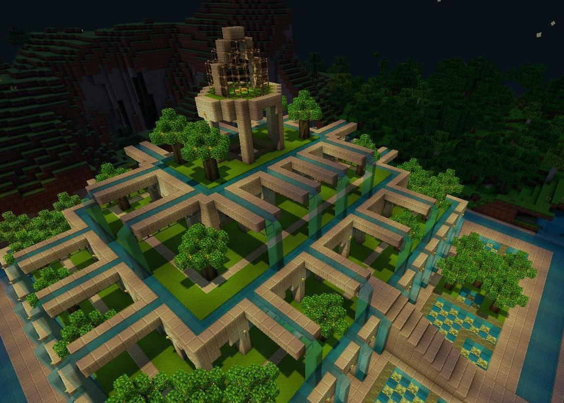 Pretty Little Gardens Minecraft Project