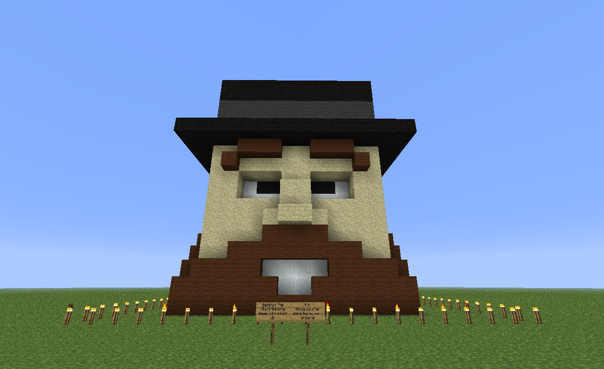 Blinking Notch Head Amp Mob Testing Facility Minecraft Project
