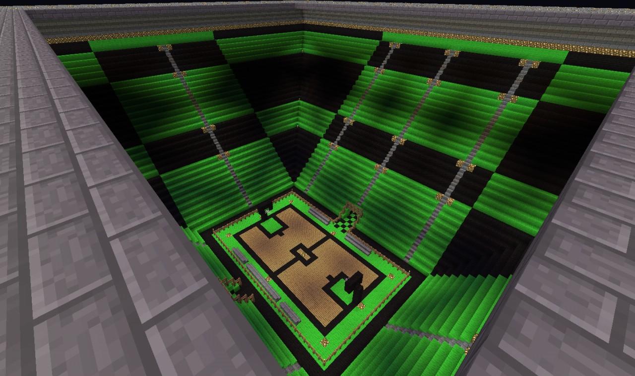 Football And Basketball Stadium Minecraft Project