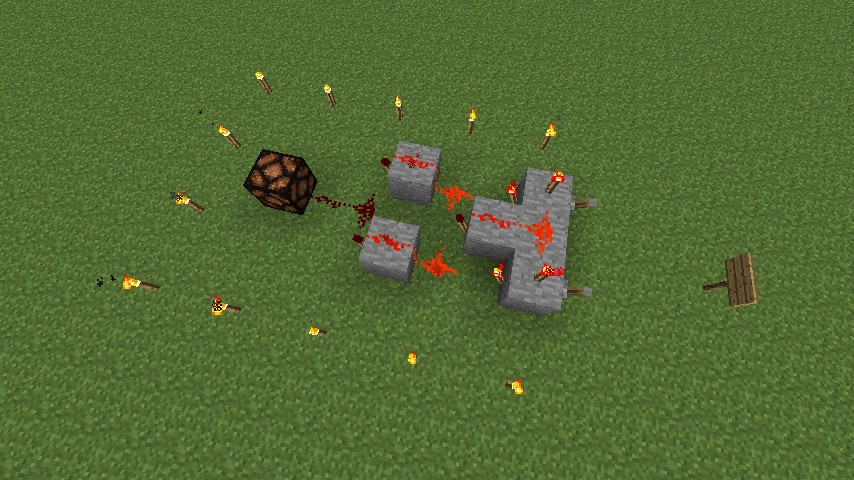 Redstone XOR Gate Minecraft Project