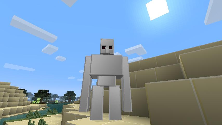 Golem Texture Iron Minecraft Pack