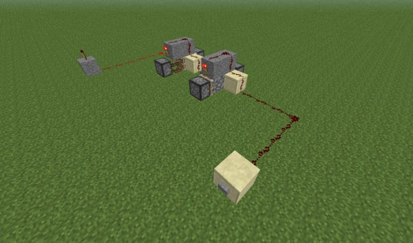 RW: How to make a T-FlipFlop Minecraft Project
