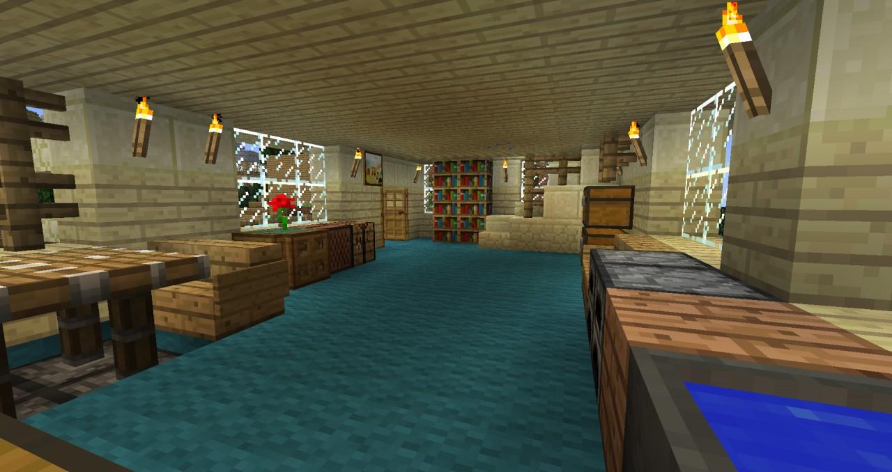 Modern Apartment Design Minecraft Project
