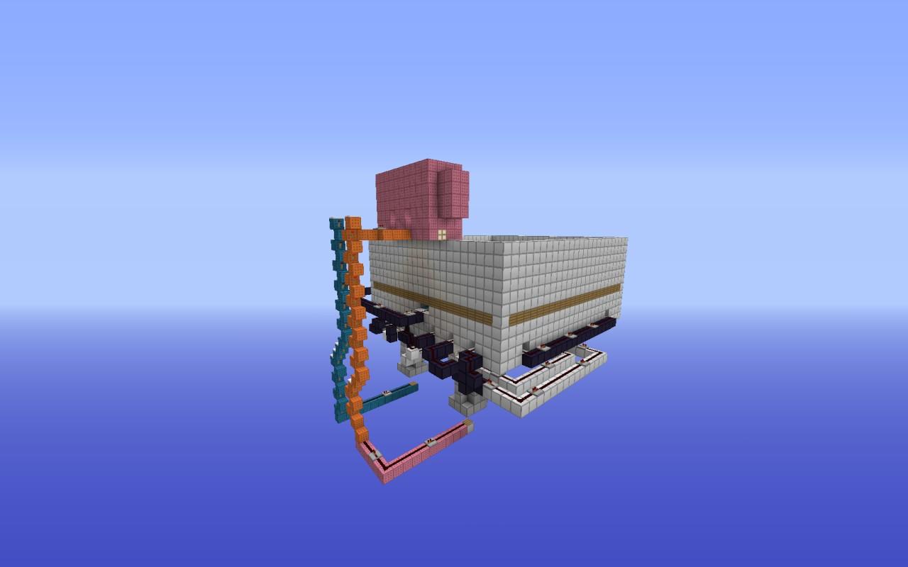 Minecraft Shooting Range Minecraft Project