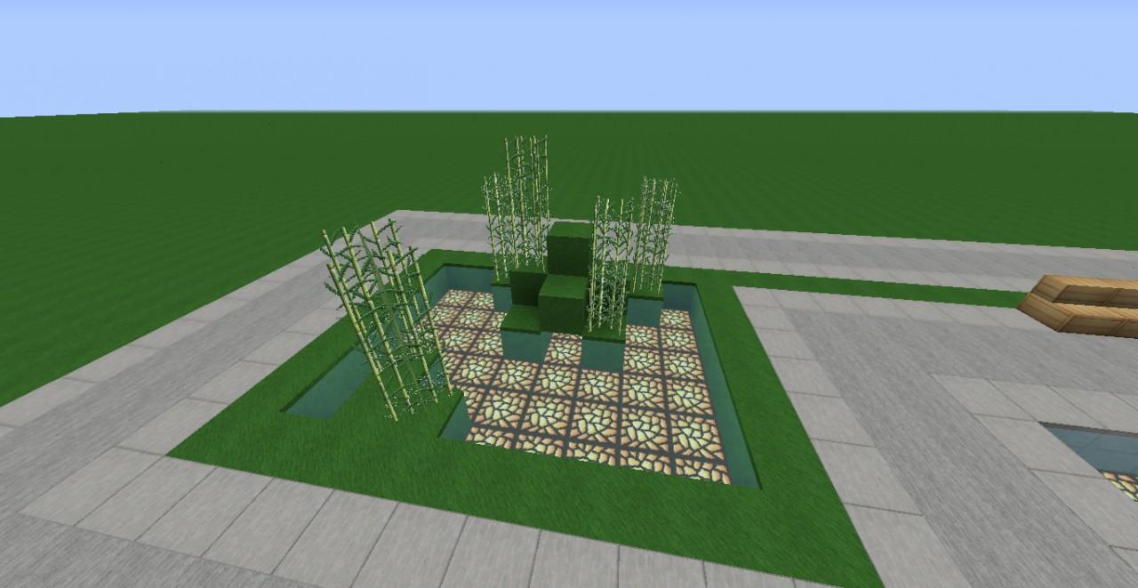 How Build Garden Minecraft
