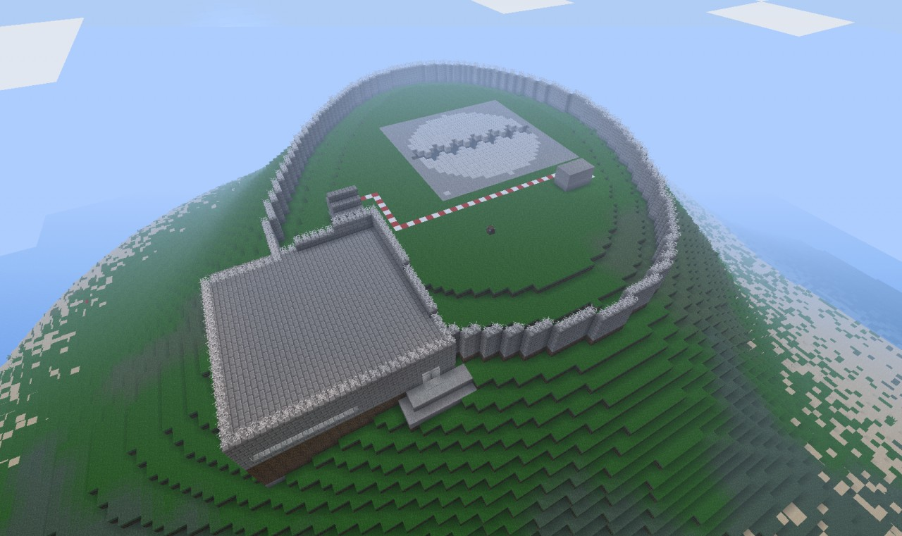 Missile Silo Minecraft Project
