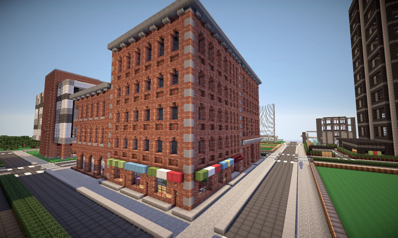 Minecraft Small Modern Office Building
