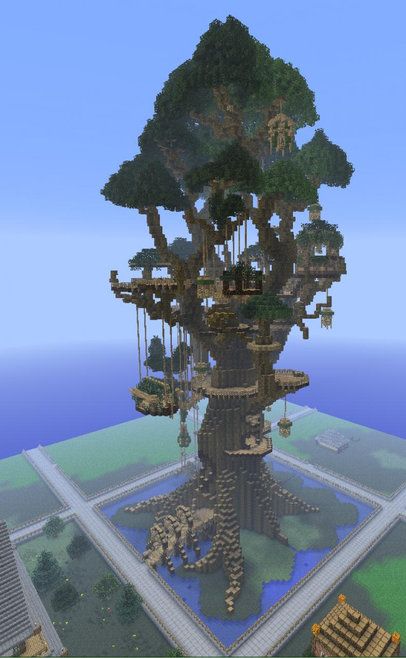 Canopy Sanctuary Minecraft Project