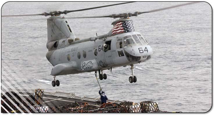 Boeing Vertol CH 46 Sea Knight Minecraft Project