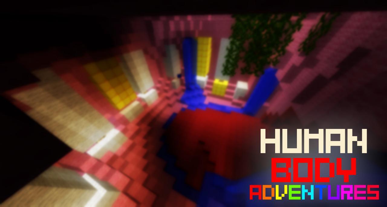 HUMAN BODY ADVENTURES Minecraft Project