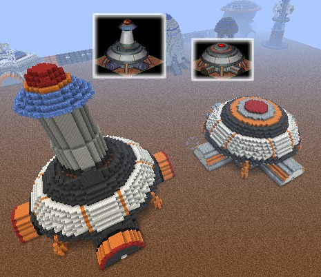 Space Colony Outpost Inspired Fully Explorable Do It