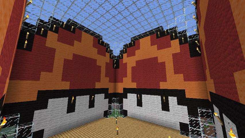 Nintendo Mario Mushroom House Minecraft Project