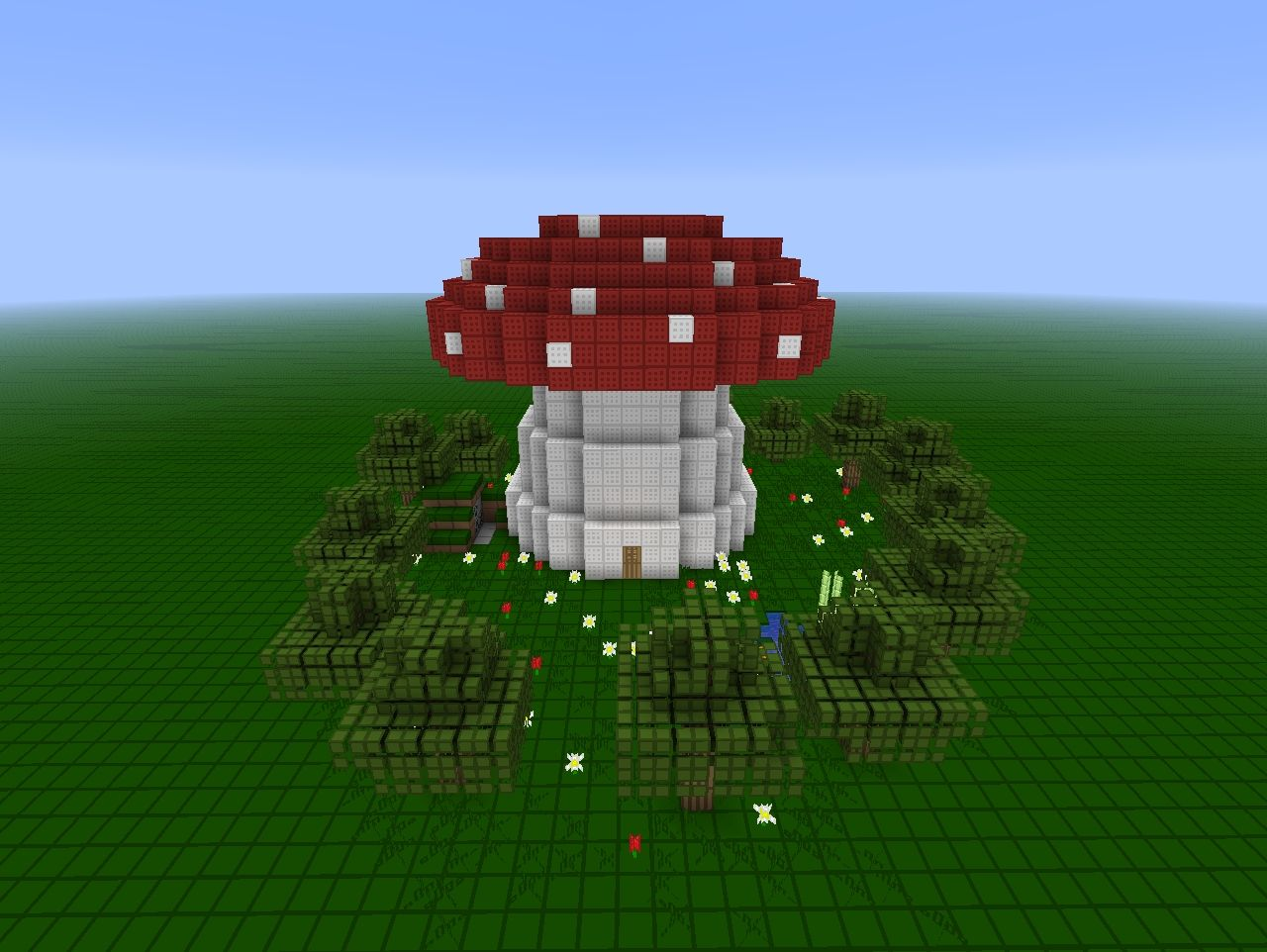 Giant Mushroom House By WBCompany Minecraft Project