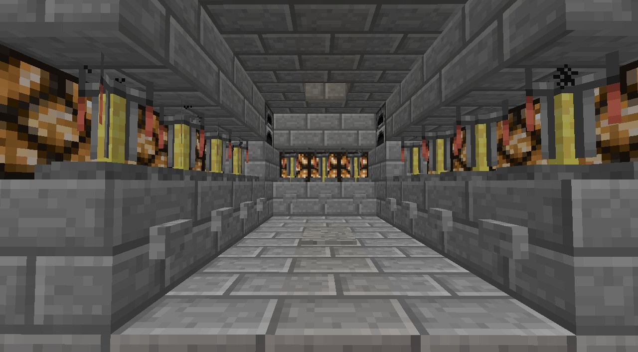 Simple Potion Room Minecraft Project
