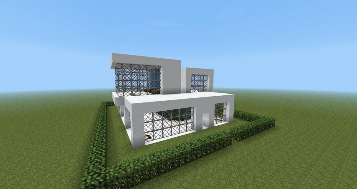 Modern House Design Minecraft Map